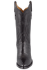 Lucchese Women's Black Lizard Boots - Front