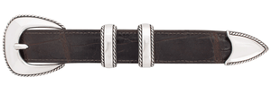 "Randall Moore Lariat Rope Edge 1"" Buckle Set"