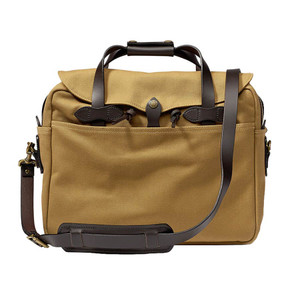 Filson Briefcase/Computer Bag - Dark Tan - Front