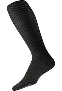 Thorlo Small Black Thin Cushion Dress Socks
