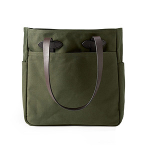Filson Tote Bag - Otter Green - Front