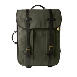 Filson Medium Wheeled Check-In Bag - Otter Green - Front