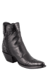 Stallion Women's Zorro Black Gator Ankle Boots - Hero