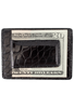 American Alligator Sports Money Clip - Black - Back