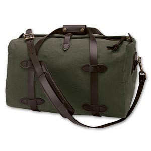 Filson Small Duffle Bag - Otter Green