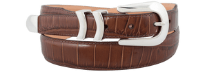 Catera Croc Belt XL - Brown