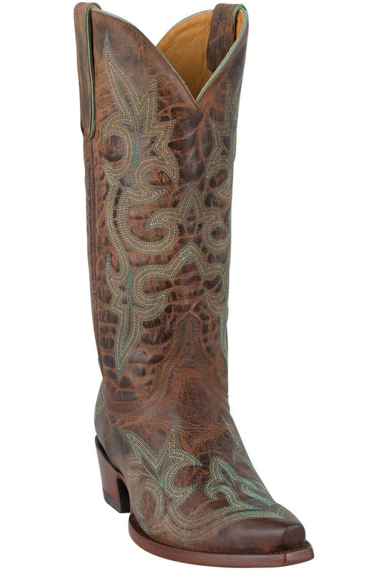 Old Gringo Women's Rust Diego Boots - Hero