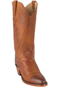 Lucchese Women's Cognac Ranch Hand Boots - Hero