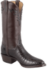 Lucchese Men's Chocolate Nile Crocodile Boots - Hero