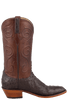 Lucchese Women's Nicotine Full-Quill Ostrich Boots - Side