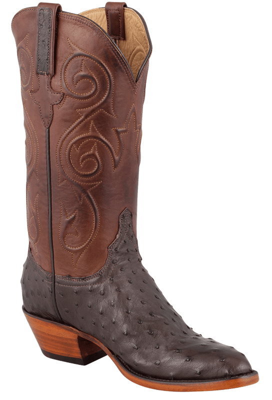 Lucchese Women's Nicotine Full-Quill Ostrich Boots - Hero