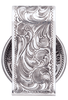 Pinto Ranch Cinco Peso Engraved Money Clip - Back