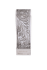 Pinto Ranch Longhorn Gold and Silver Engraved Money Clip - Back