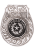 Pinto Ranch State Seal of Texas Engraved FOB Money Clip - Front