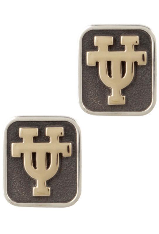 University of Texas Gold and Silver Cufflinks - Front