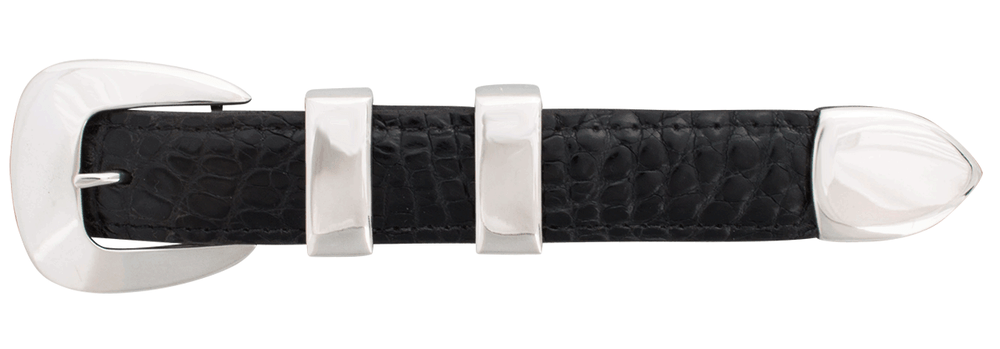 "Horst Schrader Plain 1"" Buckle Set"