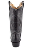 Lucchese Women's Black Ultra Caiman Crocodile Triad Boots - Back