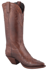 Lucchese Women's Tan Ranch Hand Boots