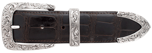 "Chacon Caliente Engraved 1 1/2"" Buckle Set"