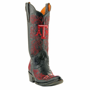 Gameday Women's Black Texas A&M University Boots