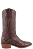 Rios of Mercedes Men's Chocolate Pirarucu Boots - Side