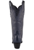 Stallion Women's Navy Caiman Crocodile Triad Boots - Back