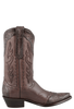 Stallion Women's Chocolate Western Tooled Boots - Side