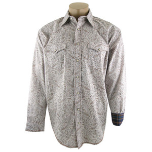Panhandle Slim Montebello Paisley Snap Shirt