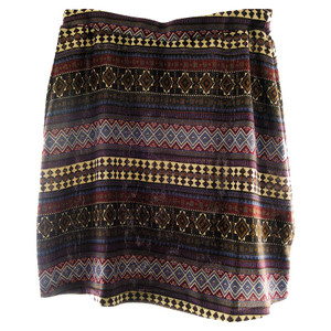 Double D Ranch Camp Blanket Mini Skirt