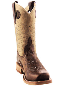 Anderson Bean Kids Tan and Brown Pit Bull Boots