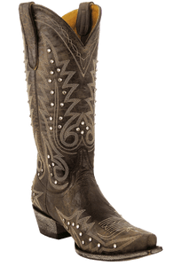 Old Gringo Women's Chocolate Nevada Crystal Boots