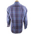 Bugatchi Navy and Purple Plaid Shirt - Back