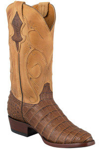 Benchmark by Old Gringo Men's Caramel Belly Caiman Cash Boots