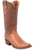 Benchmark by Old Gringo Men's Brandy Full-Quill Ostrich Tioga Boots - Hero