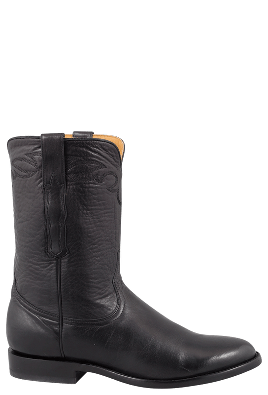 Benchmark by Old Gringo Men's Black Florence Buffalo Calf Brody Boots - Side