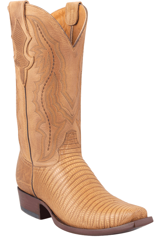Benchmark by Old Gringo Men's Tan Lizard Rubicon Boots - Hero
