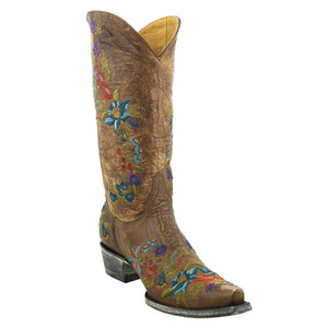 "Old Gringo Ladies ""Jasmine"" 13"" Boots - Oryx"