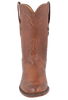 Lucchese Men's Barnwood Smooth Ostrich Roper - Front