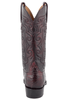 Lucchese Men's Black Cherry Ultra Caiman Crocodile Boots - Back