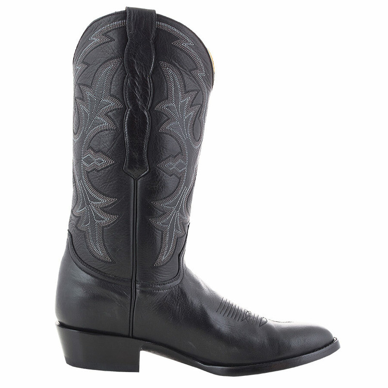 Benchmark by Old Gringo Men's Black Calf Ohio Boots - Side