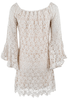 Union of Angels Tristan Crochet Dress - Back
