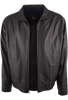 REMY LAMBSKIN JACKET - JET BLACK- INSIDE