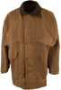 Filson Tin Cloth Packer Coat - Tan - Front Closed