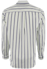 CINCH WHITE WITH LIME AND NAVY STRIPES SHIRT-BACK