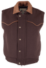 Schaefer Outfitters Competitor Wool Vest - Chocolate - Front