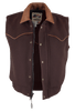Schaefer Outfitters Competitor Wool Vest - Chocolate - Hero