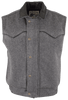 Schaefer Outfitters Competitor Wool Vest - Charcoal - Front