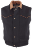 Schaefer Outfitters Competitor Wool Vest - Black - Front