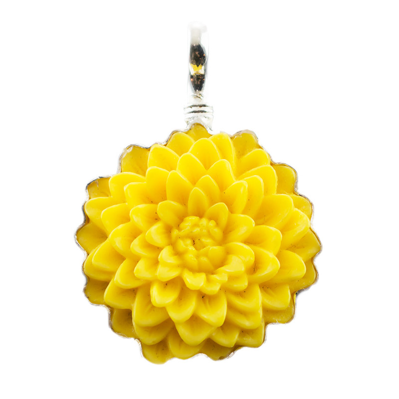 Coreen Cordova Yellow Flower Charm