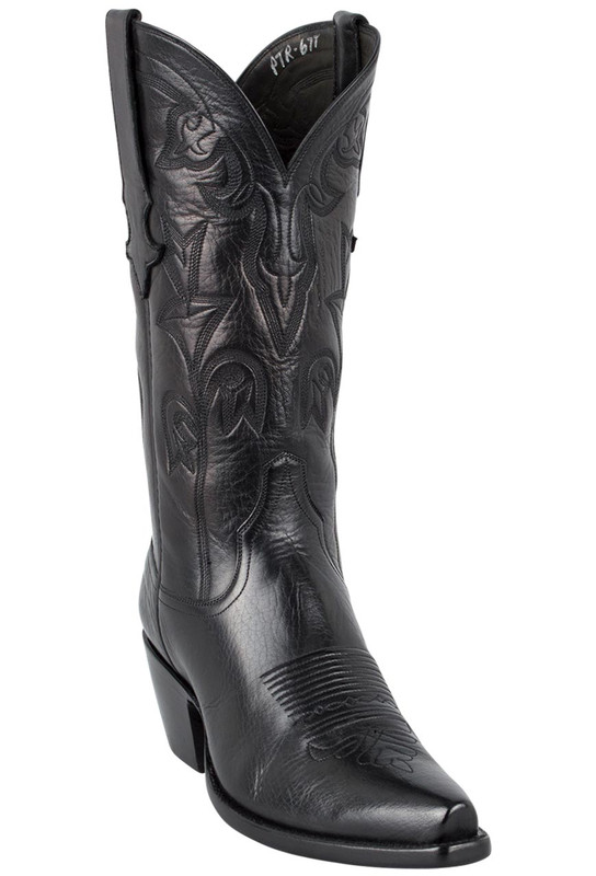 Stallion Women's Black Baby Buffalo Boots - Hero